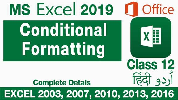 Microsoft-Excel-For-Beginners-in-Urdu-Hindi-Conditional-Formatting-Class-12