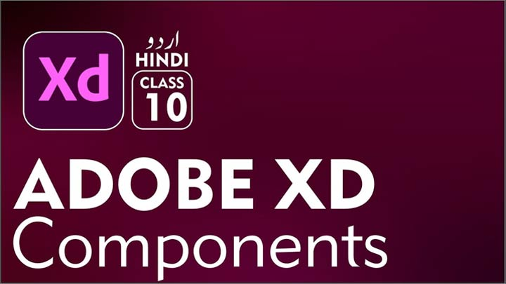 Adobe-XD-for-Beginners-Complete-Course-in-Urdu-Hindi-Component-Class-10