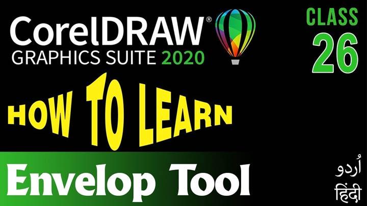 CorelDraw-for-Beginners-Complete-Course-in-Urdu-Hindi-Envelop-Tool-Class-26