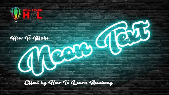 Neon-Effect-in-CorelDraw-For-Beginners-in-Urdu-Hindi-Neon-Effects-in-CorelDraw